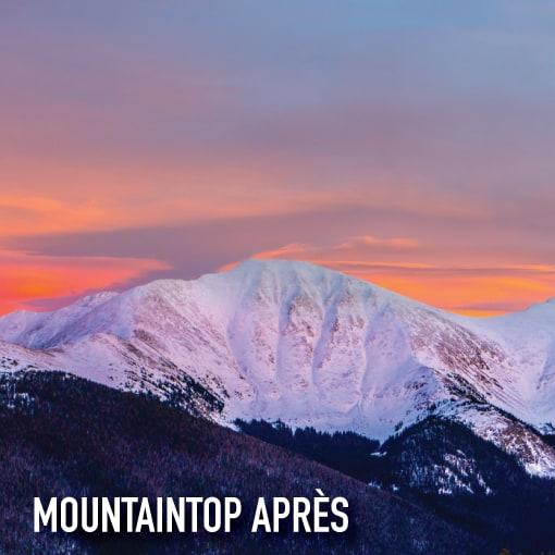 mountain top apres