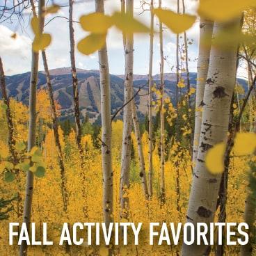 fall itinerary