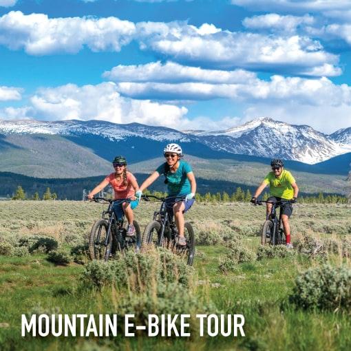 mountain e bike tour