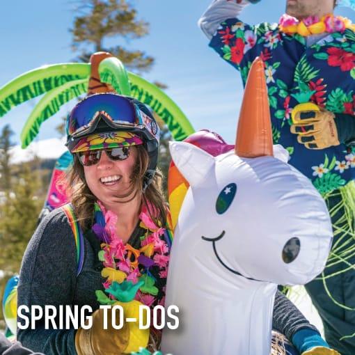 spring to dos